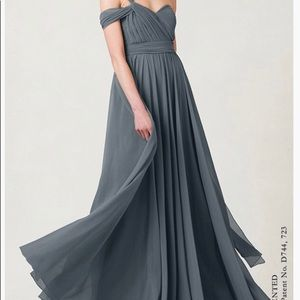 Jenny yoo Mira bridesmaid dress Denmark blue